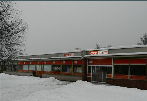 Supermarket Severka, Plasy